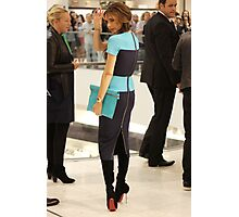 Victoria Beckham At Holt Renfrew Vancouver Photographic Print