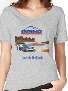 Pikes Peak Hill Climb Race into the clouds Women's Relaxed Fit T-Shirt