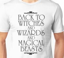 Back To Hogwarts Unisex T-Shirt