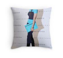 Victoria Beckham At Holt Renfrew Vancouver Throw Pillow