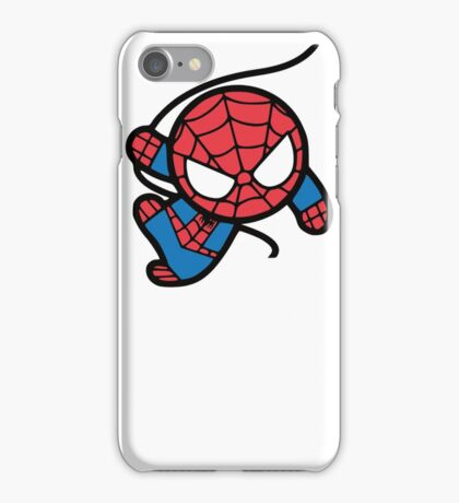 Crazy spider man iPhone Case/Skin