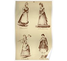 Fancy dresses described or What to wear at fancy balls by Ardern Holt 070 Charity Girl Carlotte Corday Cinderella Cotteen Baron Poster