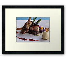 Enjoy Your Meal! - Disfruta Su Plato Framed Print