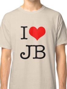 I Love JB Classic T-Shirt