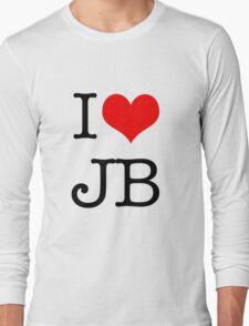 I Love JB Long Sleeve T-Shirt