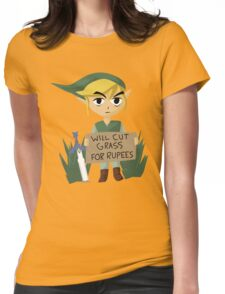 Looking For Work Womens Fitted T-Shirt