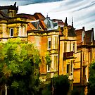 The Town Houses by wulfman65