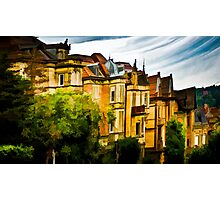 The Town Houses Photographic Print
