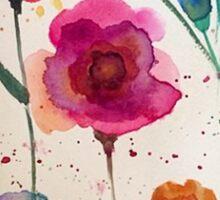 Taylor Swift - Watercolor Flowers Sticker
