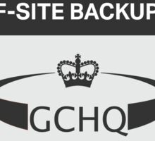 GCHQ - Off-Site Backup Sticker