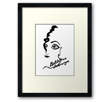Bellatrix Lestrange Framed Print
