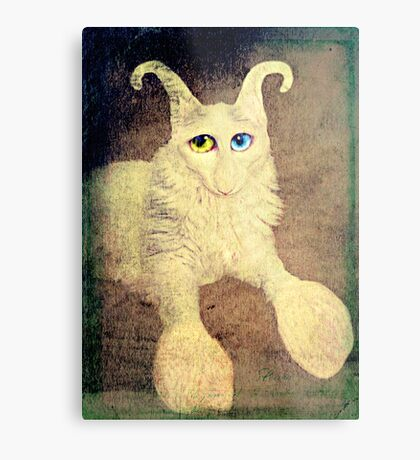 Nobody loves me because I have a big nose, but I do have beautiful eyes. Metal Print