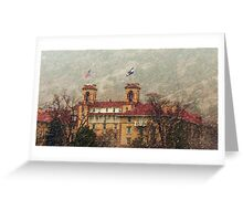 Historic Hotel Colorado Greeting Card
