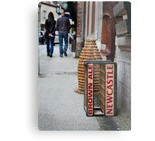 Newcastle Brown Ale Crate Metal Print