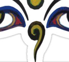 Crunk Eco Wear | Be Green Records Merch | Buddha Eyes 11 Sticker