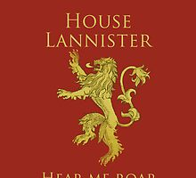 Lannister iPhone Case by Alexandra Grant