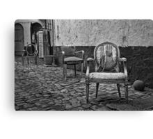 Vintage Chairs Canvas Print