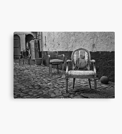 Vintage Chairs Canvas Print
