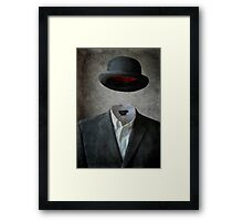 Invisable Man Framed Print