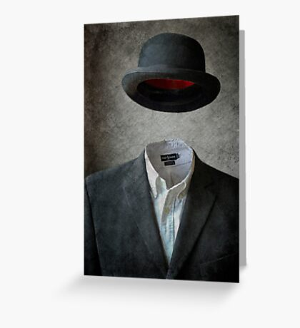 Invisable Man Greeting Card