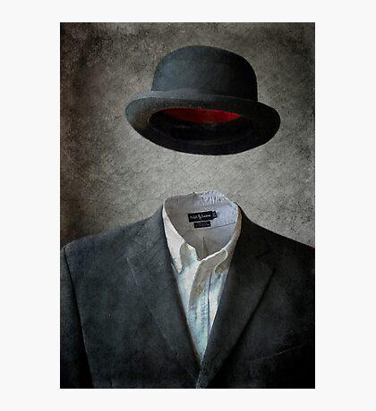 Invisable Man Photographic Print
