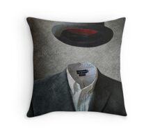 Invisable Man Throw Pillow