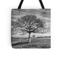 Skeletal Tree Tote Bag