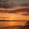 Humber Bridge Sunrise by John Dunbar