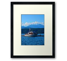 Poised in Proximity to the Precipice Framed Print