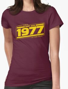There at the Start Womens Fitted T-Shirt
