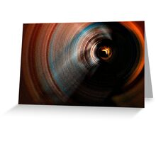 Dark Ripple Greeting Card