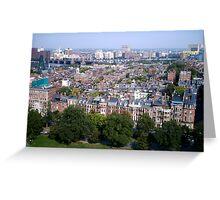 Boston Beacon Hill Greeting Card