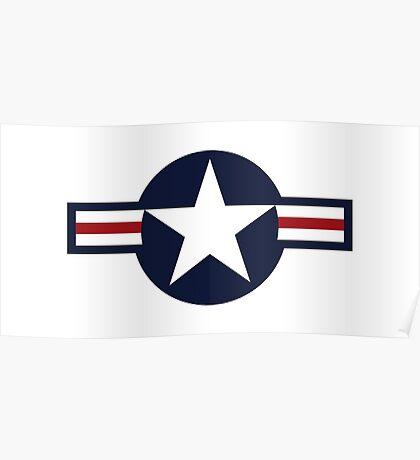 USA Air Force Logo Poster
