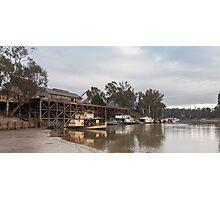 The Port of Echuca Victoria Australia Photographic Print