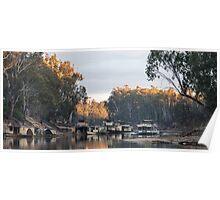 Murray River at Echuca Victoria Australia Poster