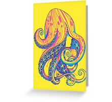 Curls Greeting Card