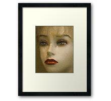 An Empty Stare Framed Print