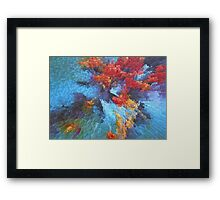 Blocks of Harmony Framed Print