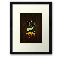 Fawn and Flora Framed Print