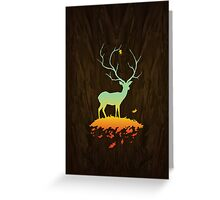 Fawn and Flora Greeting Card