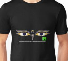 Crunk Eco Wear | Be Green Records Merch | Buddha Eyes 33 Unisex T-Shirt