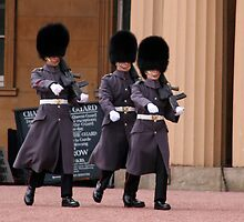 London Guards Marching by TWCreation