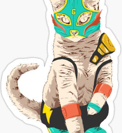 El Gato Asesino Sticker
