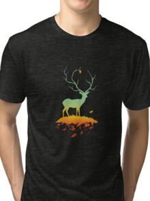 Fawn and Flora Tri-blend T-Shirt