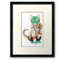 El Gato Asesino Framed Print