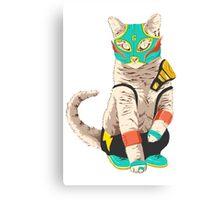 El Gato Asesino Canvas Print