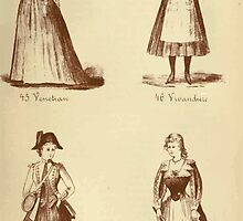 Fancy dresses described or What to wear at fancy balls by Ardern Holt 282 Yenetian Vivandiere Vandyke by wetdryvac
