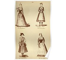 Fancy dresses described or What to wear at fancy balls by Ardern Holt 282 Yenetian Vivandiere Vandyke Poster