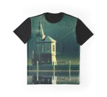 Castle in the Water Graphic T-Shirt