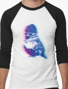 Bird Hair Day Men's Baseball ¾ T-Shirt
